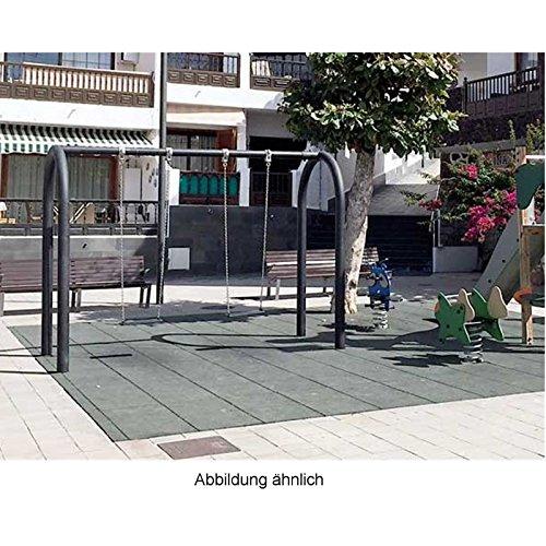 Doppelschaukel mit Brettschaukeln für öffentliche Spielplätze - 3