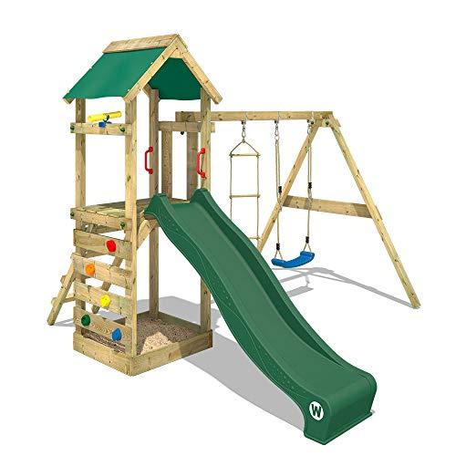 Wickey Spielturm mit Schaukel und Rutsche