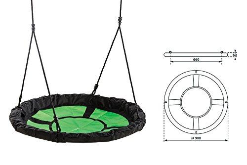 Gartenpirat Nestschaukel 150kg, 98cm - 2
