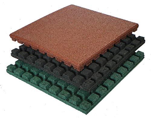 Gartenpirat Fallschutzmatten 50x50cm