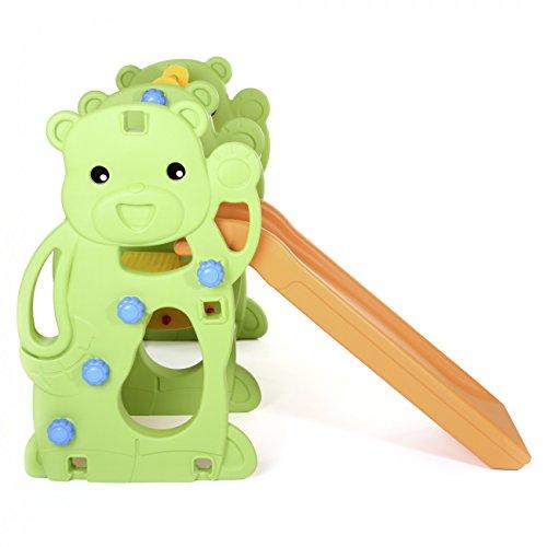 BABY VIVO Kinderschaukel mit Rutsche - 6