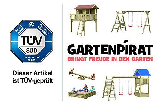 Gartenpirat Schaukel Holz Classic 3.1 - 2