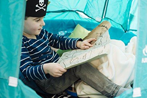 Hudora Nestschaukel mit Zelt Pirate 90cm - 4