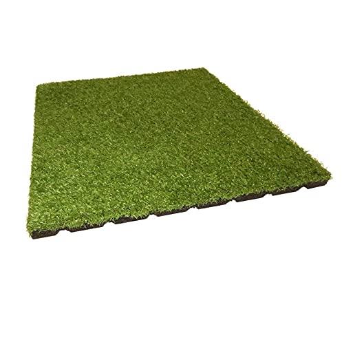 Gartenpirat Fallschutzmatte mit Kunstrasen
