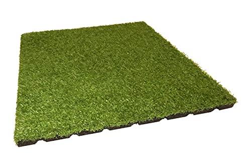 Gartenpirat Fallschutzmatte mit Kunstrasen - 2