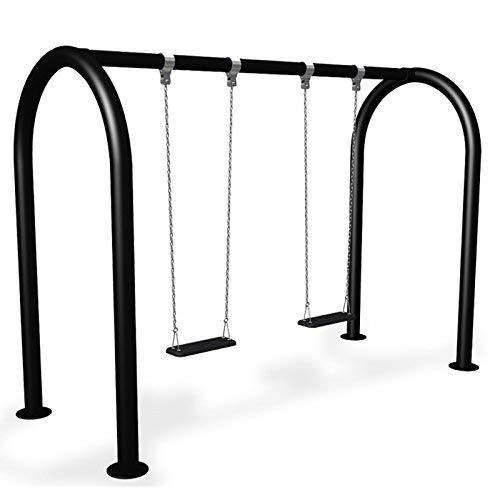 Doppelschaukel Metall für öffentliche Spielplätze